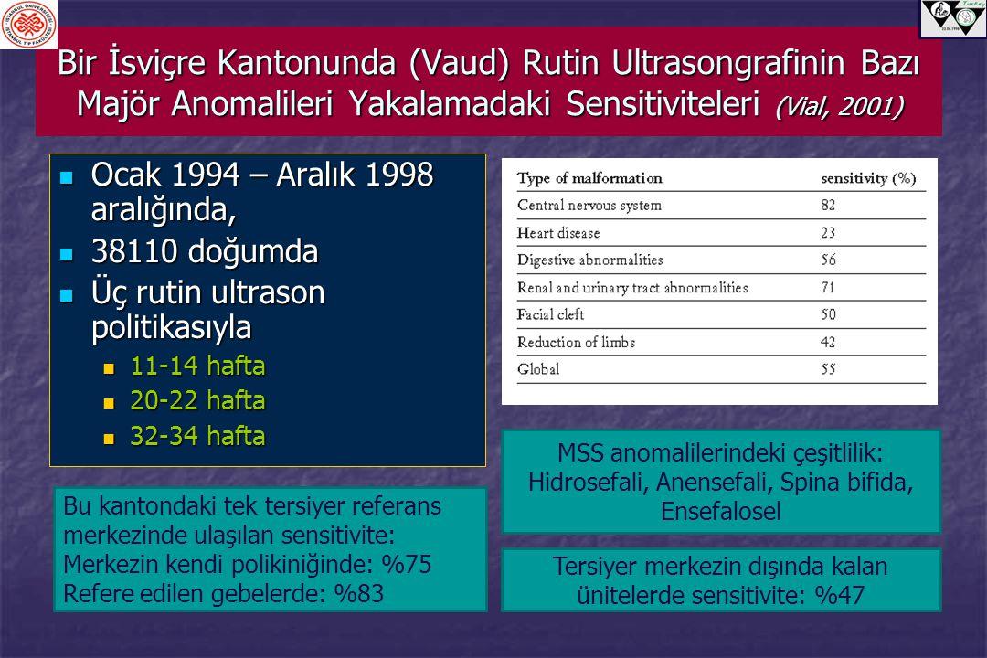 Tersiyer merkezin dışında kalan ünitelerde sensitivite: %47