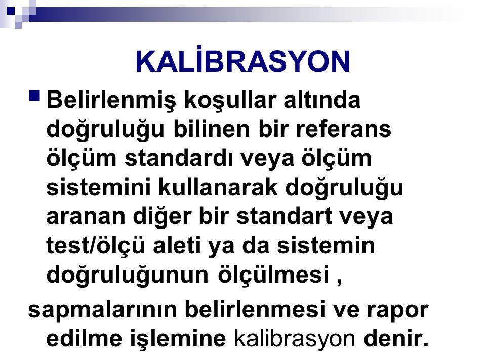 KALİBRASYON