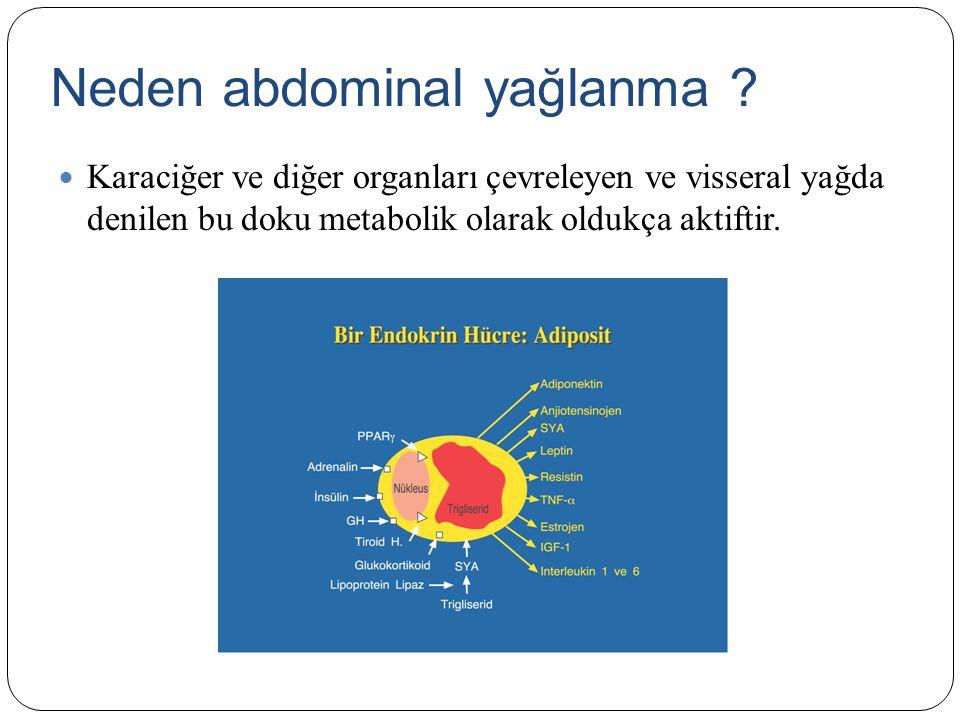 Neden abdominal yağlanma