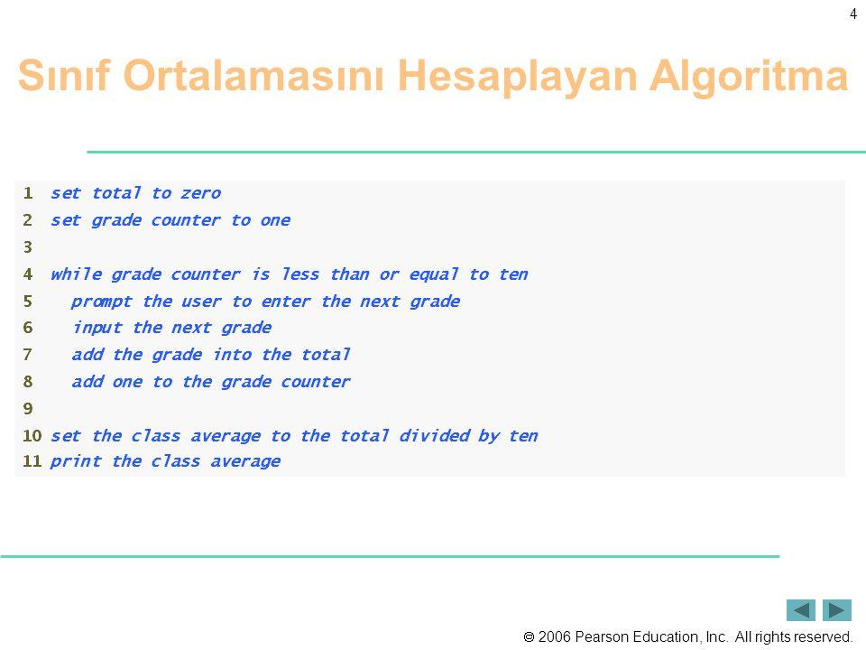 Sınıf Ortalamasını Hesaplayan Algoritma