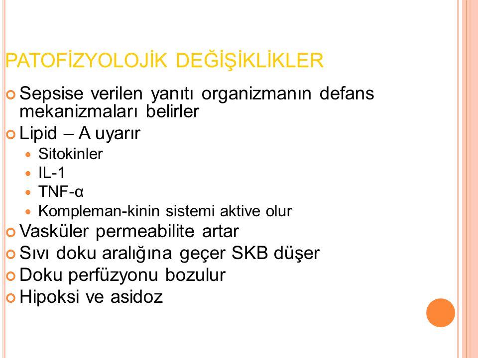 PATOFİZYOLOJİK DEĞİŞİKLİKLER
