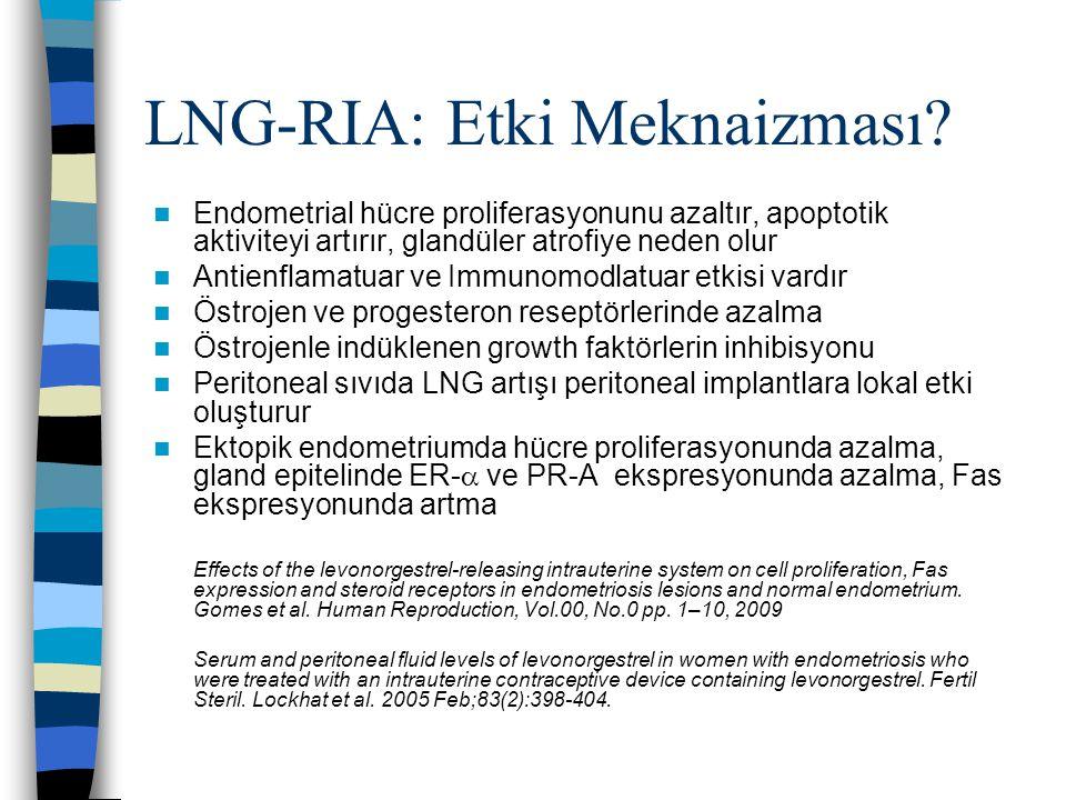 LNG-RIA: Etki Meknaizması