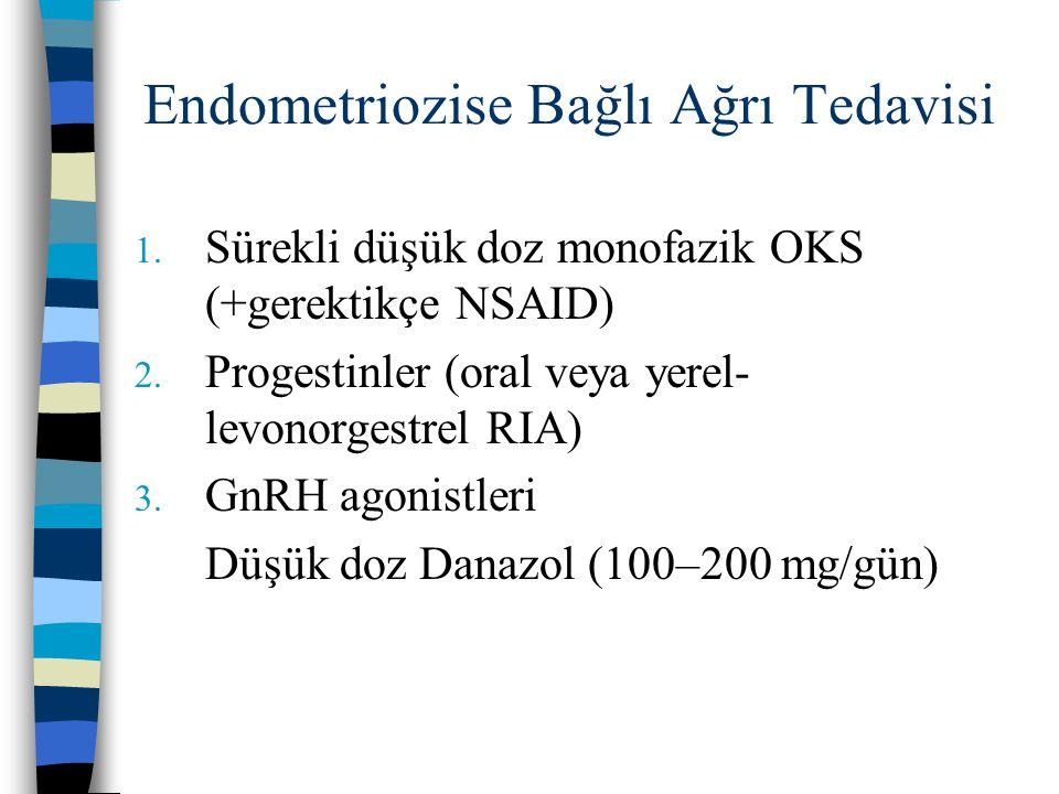 Endometriozise Bağlı Ağrı Tedavisi
