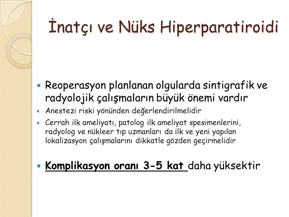 İnatçı ve Nüks Hiperparatiroidi