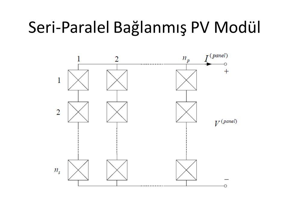 Seri-Paralel Bağlanmış PV Modül