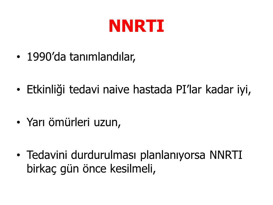 NNRTI 1990'da tanımlandılar,