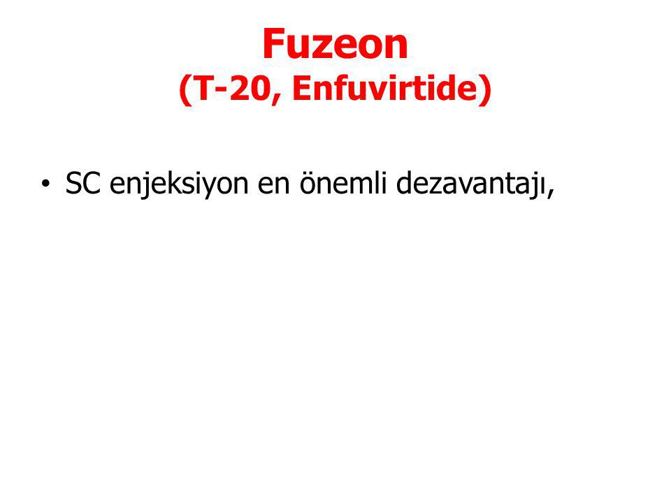 Fuzeon (T-20, Enfuvirtide)