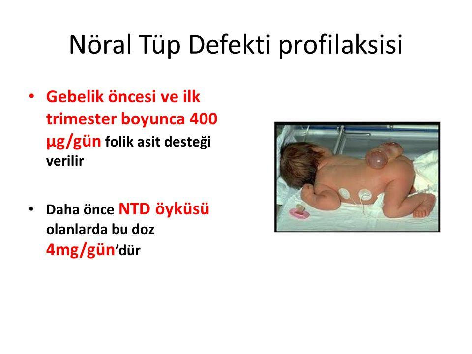 Nöral Tüp Defekti profilaksisi