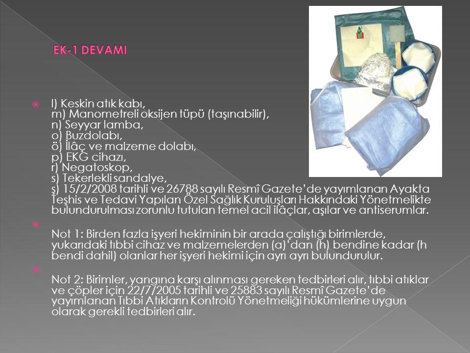 EK-1 DEVAMI