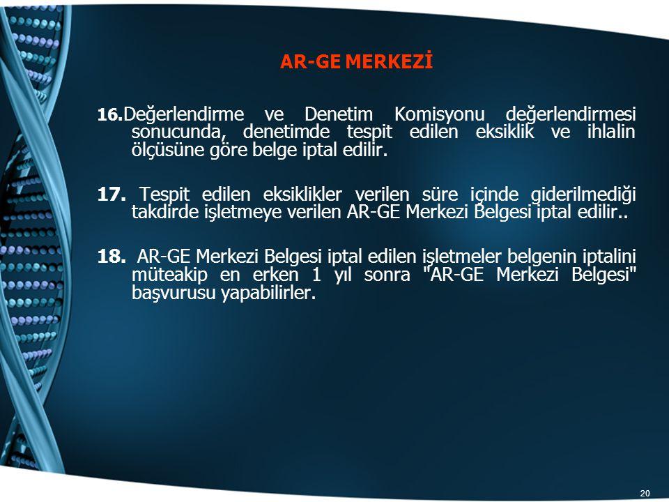 AR-GE MERKEZİ