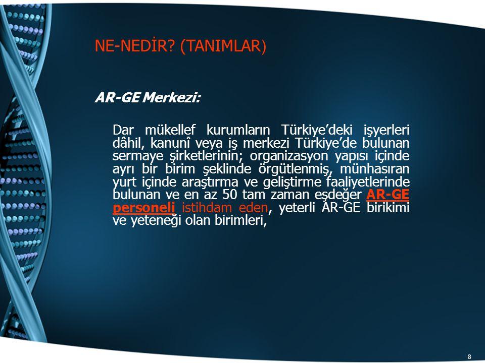 NE-NEDİR (TANIMLAR) AR-GE Merkezi: