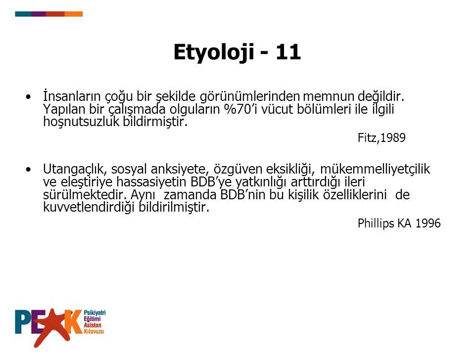 Etyoloji - 11