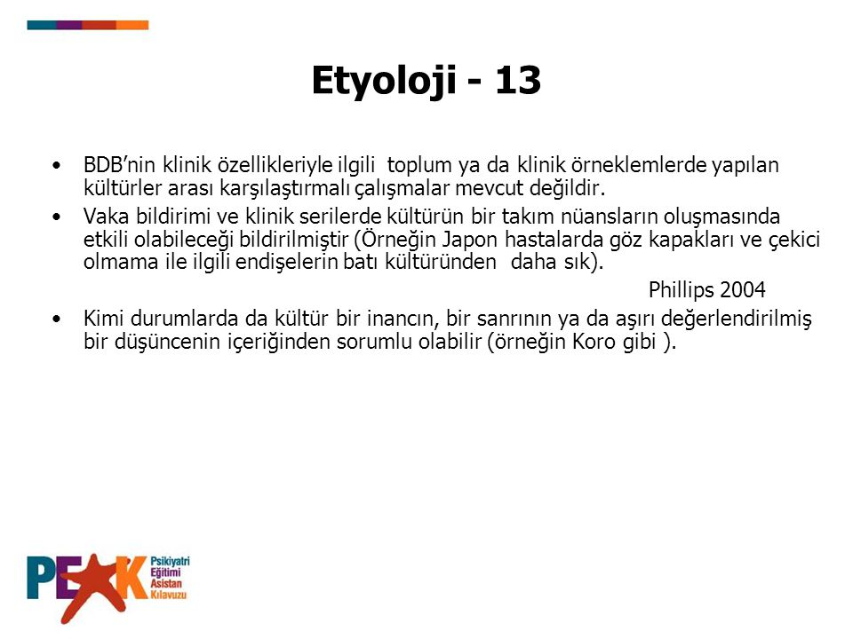 Etyoloji - 13
