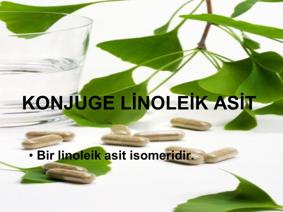 Bir linoleik asit isomeridir.