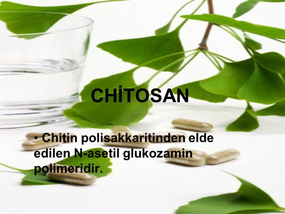 Chitin polisakkaritinden elde edilen N-asetil glukozamin polimeridir.
