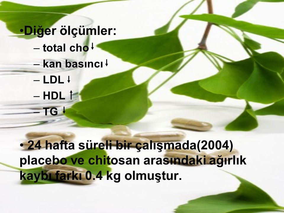 Diğer ölçümler: total cho. kan basıncı. LDL. HDL. TG.