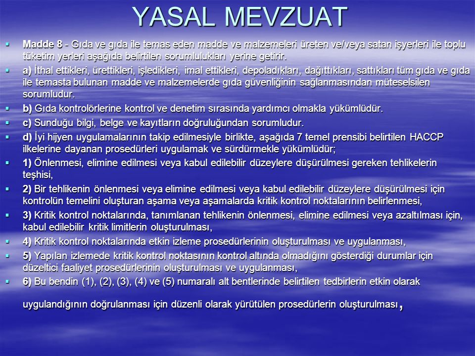 YASAL MEVZUAT