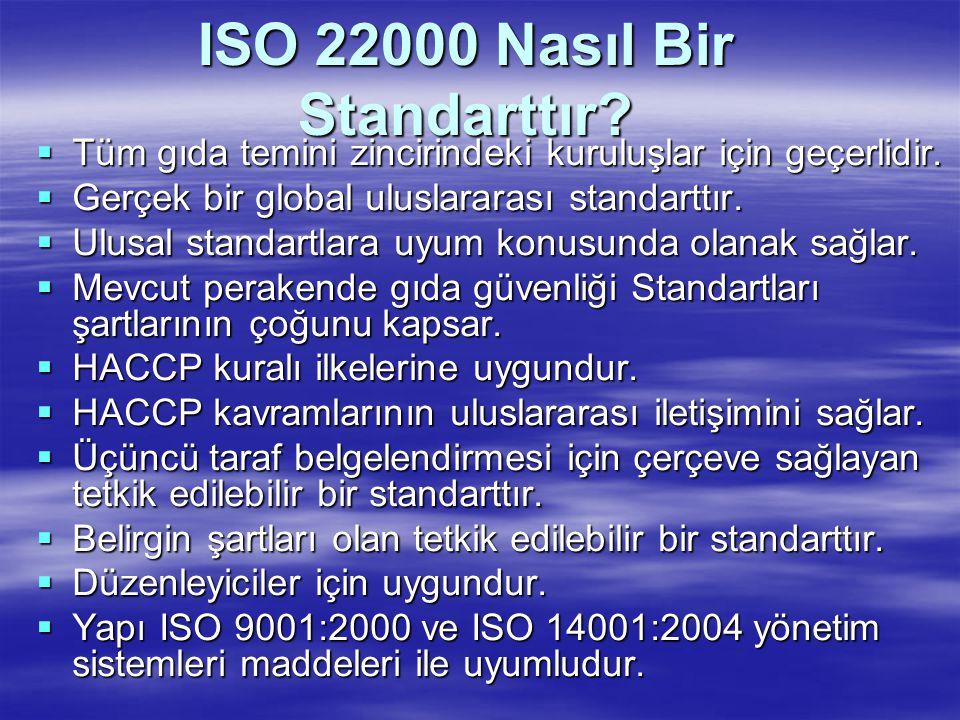 ISO 22000 Nasıl Bir Standarttır