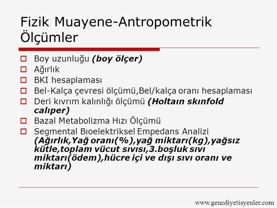 Fizik Muayene-Antropometrik Ölçümler