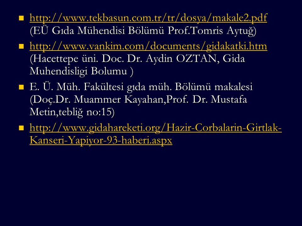 http://www. tekbasun. com. tr/tr/dosya/makale2