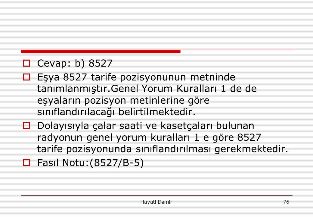 Cevap: b) 8527