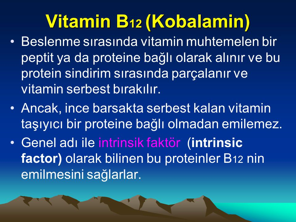 Vitamin B12 (Kobalamin)
