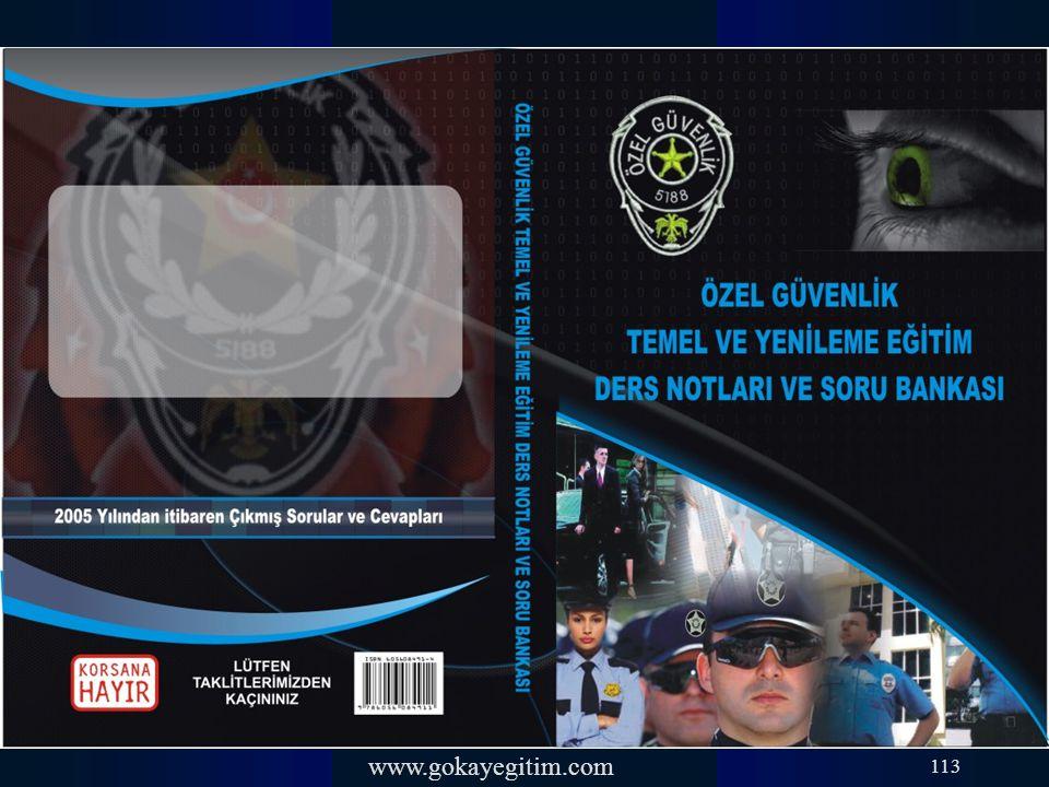 www.gokayegitim.com 113