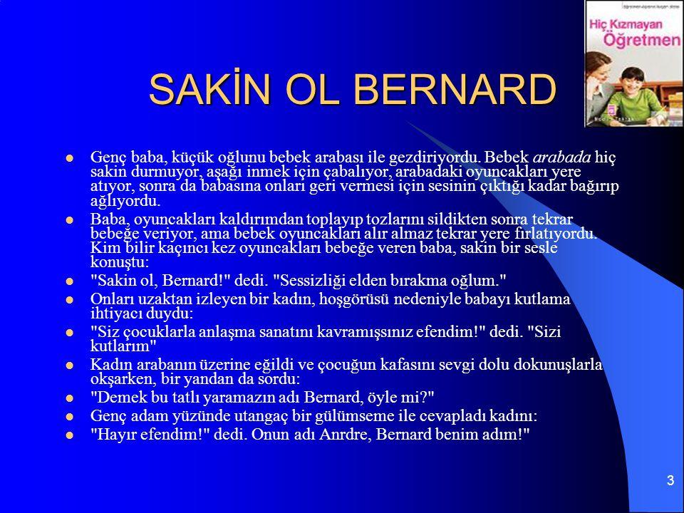 SAKİN OL BERNARD