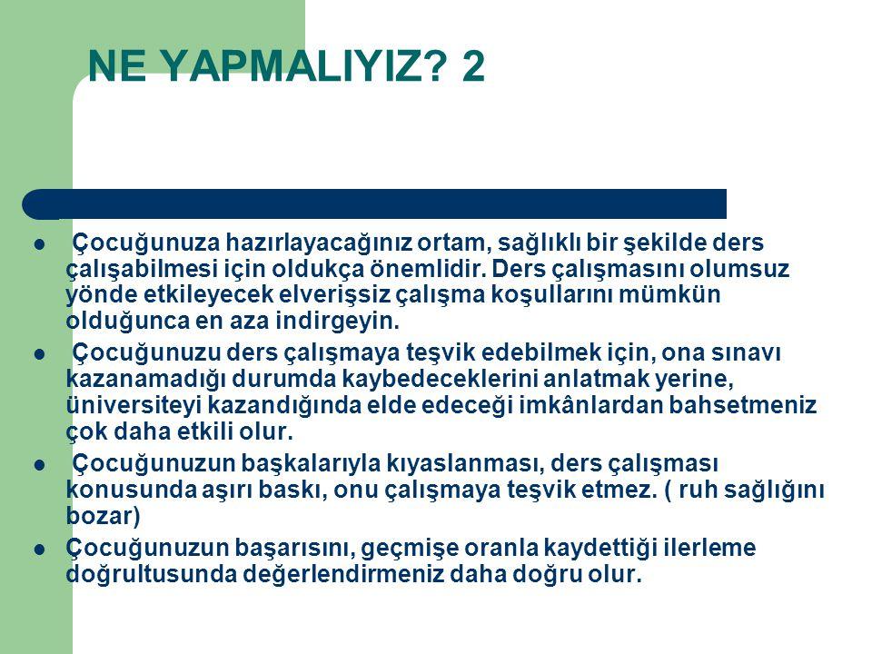 NE YAPMALIYIZ 2