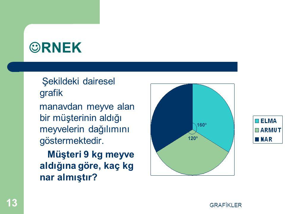 RNEK Şekildeki dairesel grafik