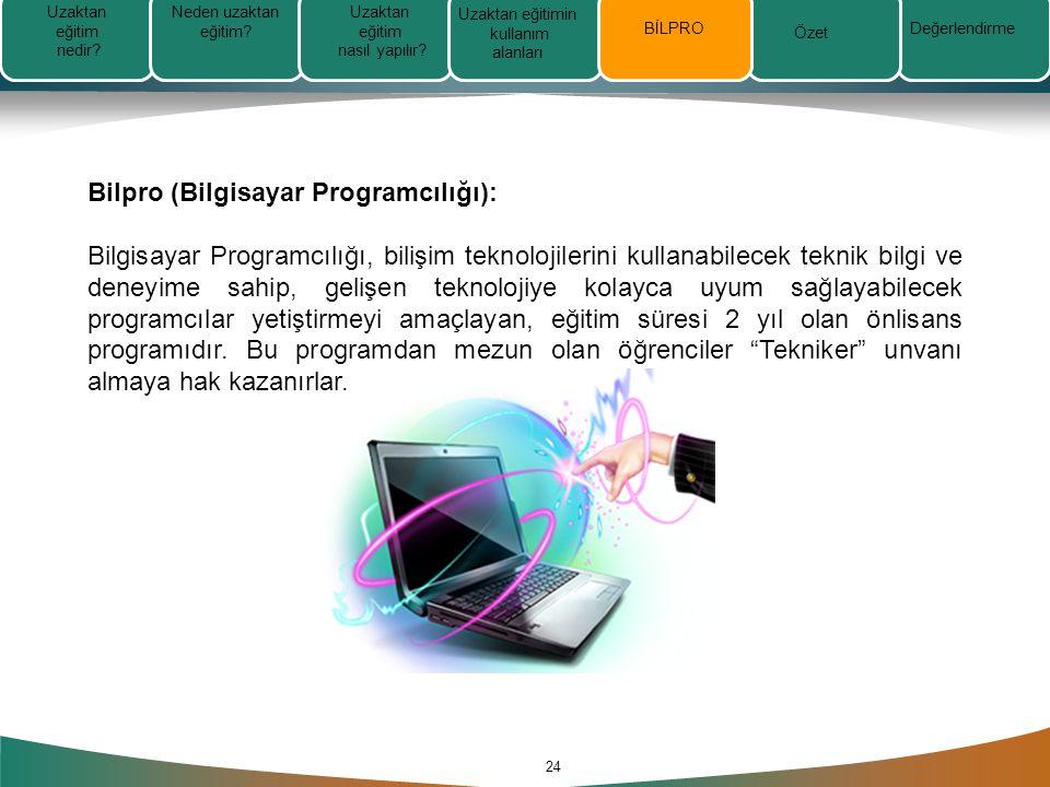 Bilpro (Bilgisayar Programcılığı):