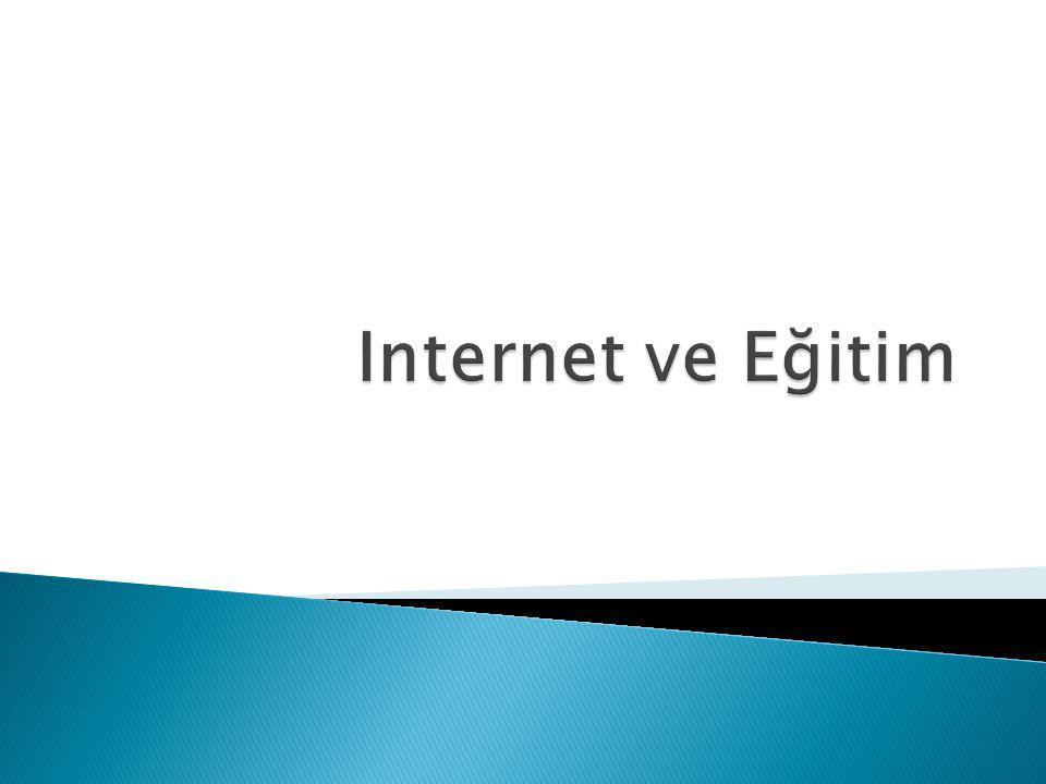 Internet ve Eğitim
