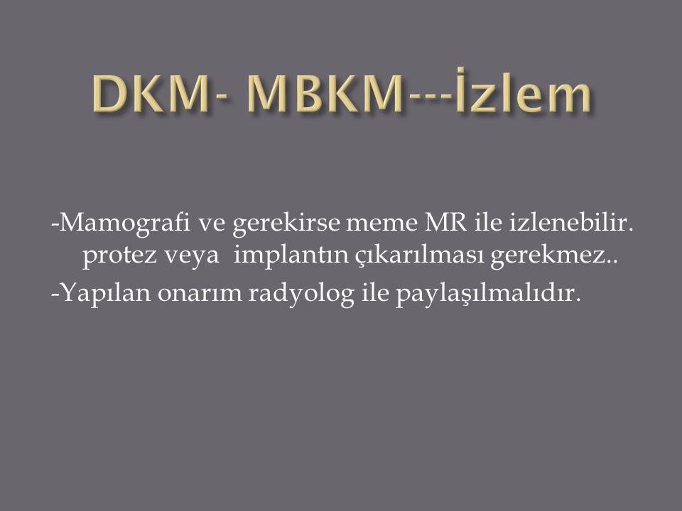 DKM- MBKM---İzlem