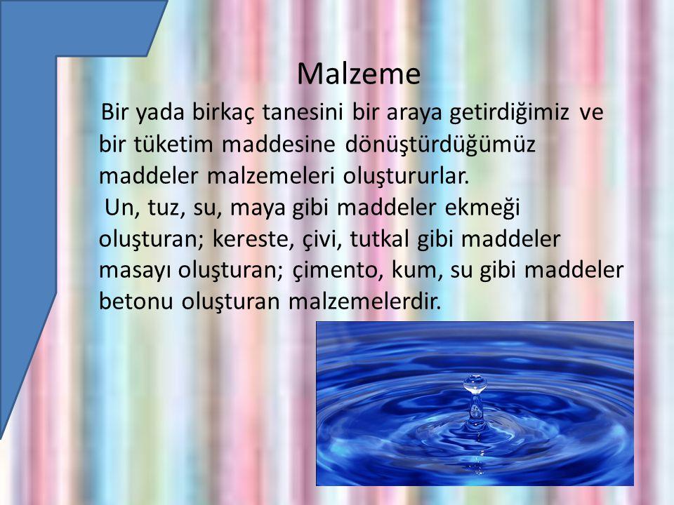 Malzeme