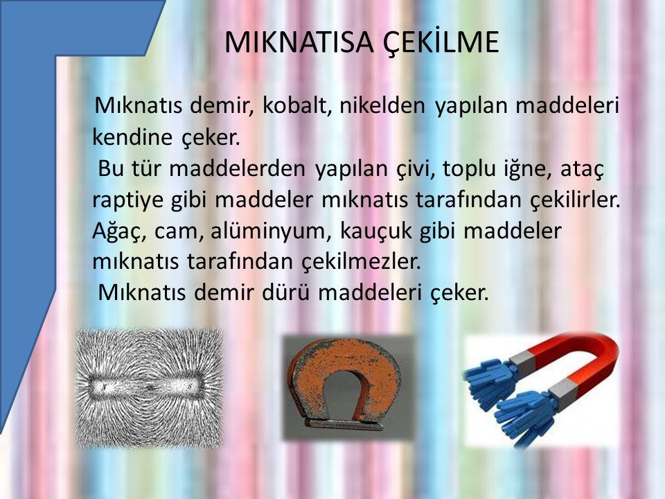 MIKNATISA ÇEKİLME