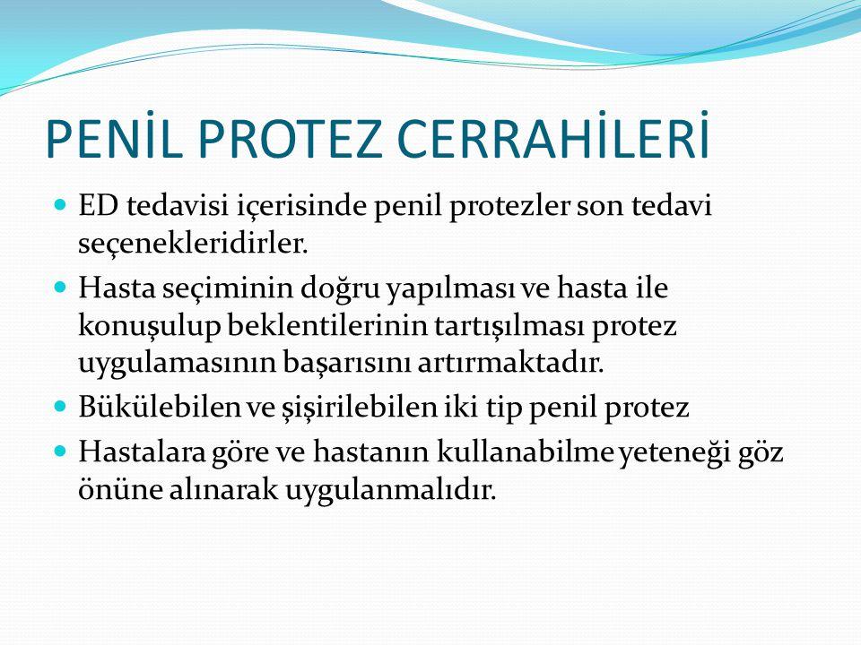 PENİL PROTEZ CERRAHİLERİ