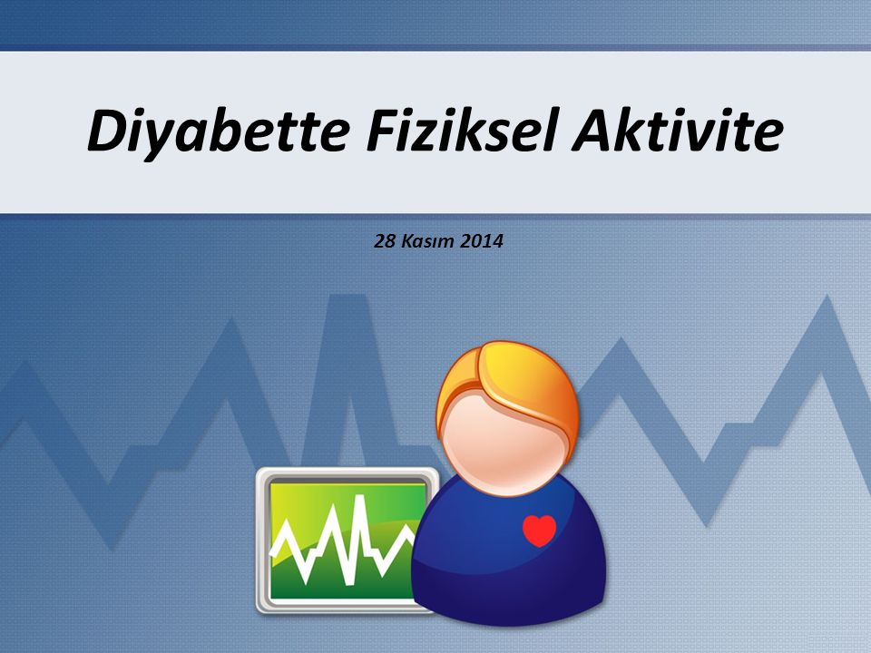 Diyabette Fiziksel Aktivite