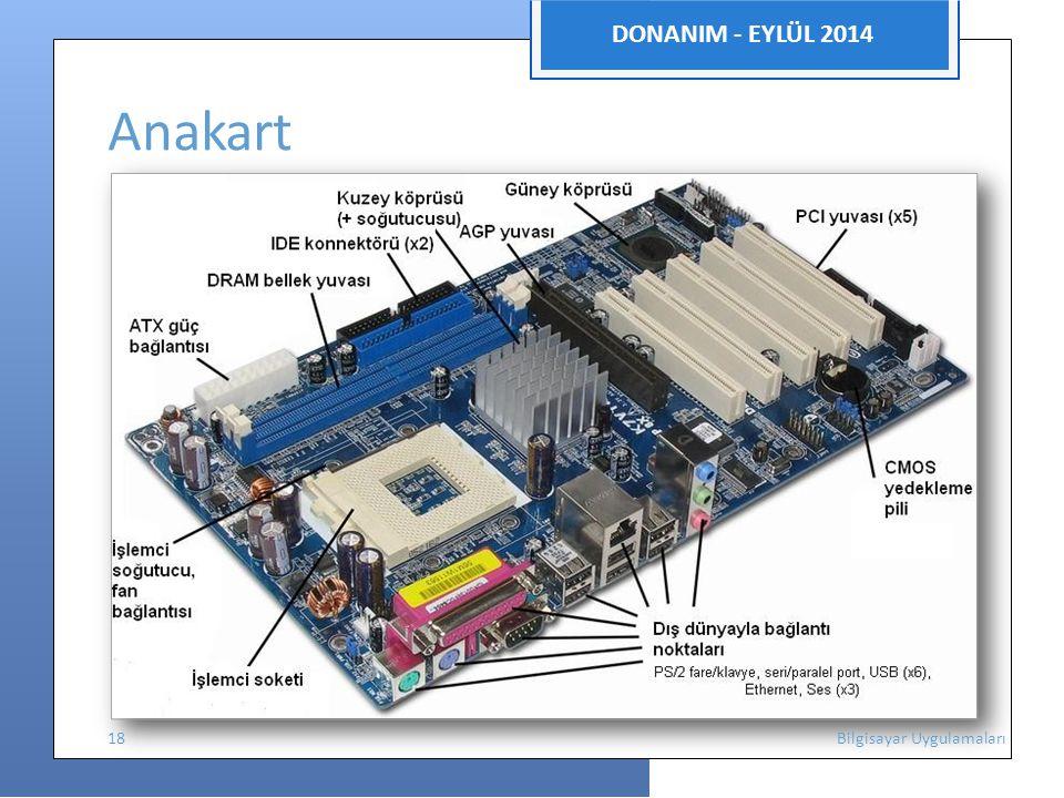 DONANIM - EYLÜL 2014 Anakart.