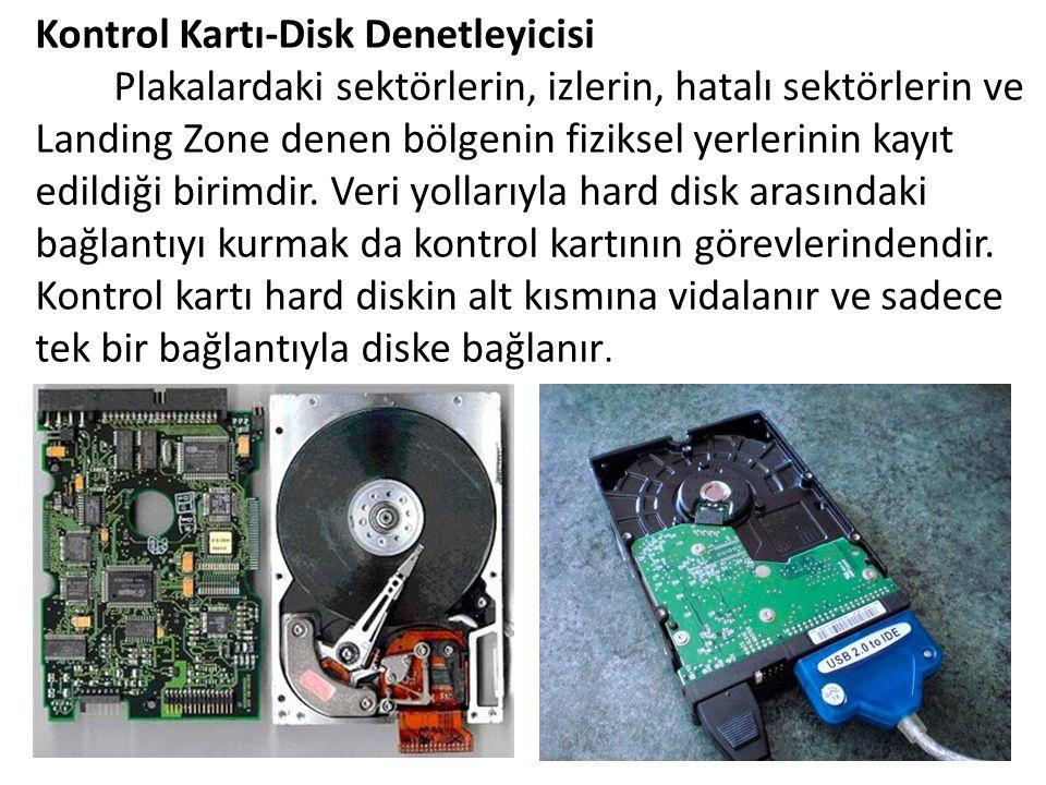 Kontrol Kartı-Disk Denetleyicisi