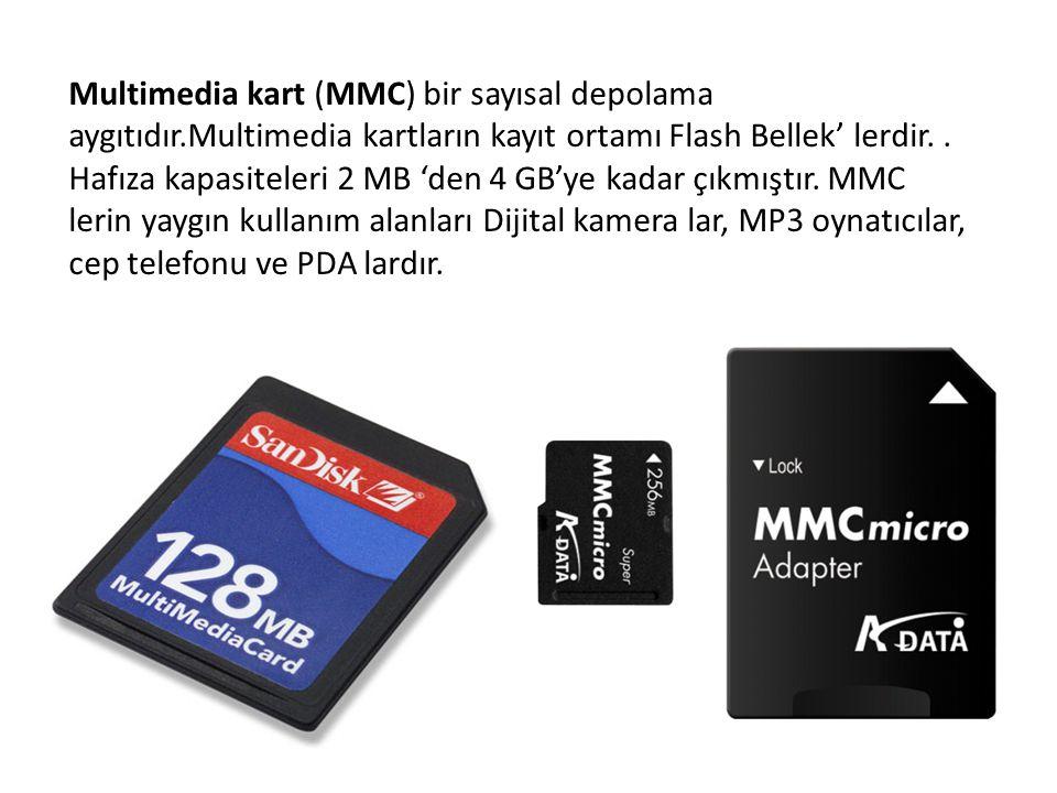 Multimedia kart (MMC) bir sayısal depolama aygıtıdır