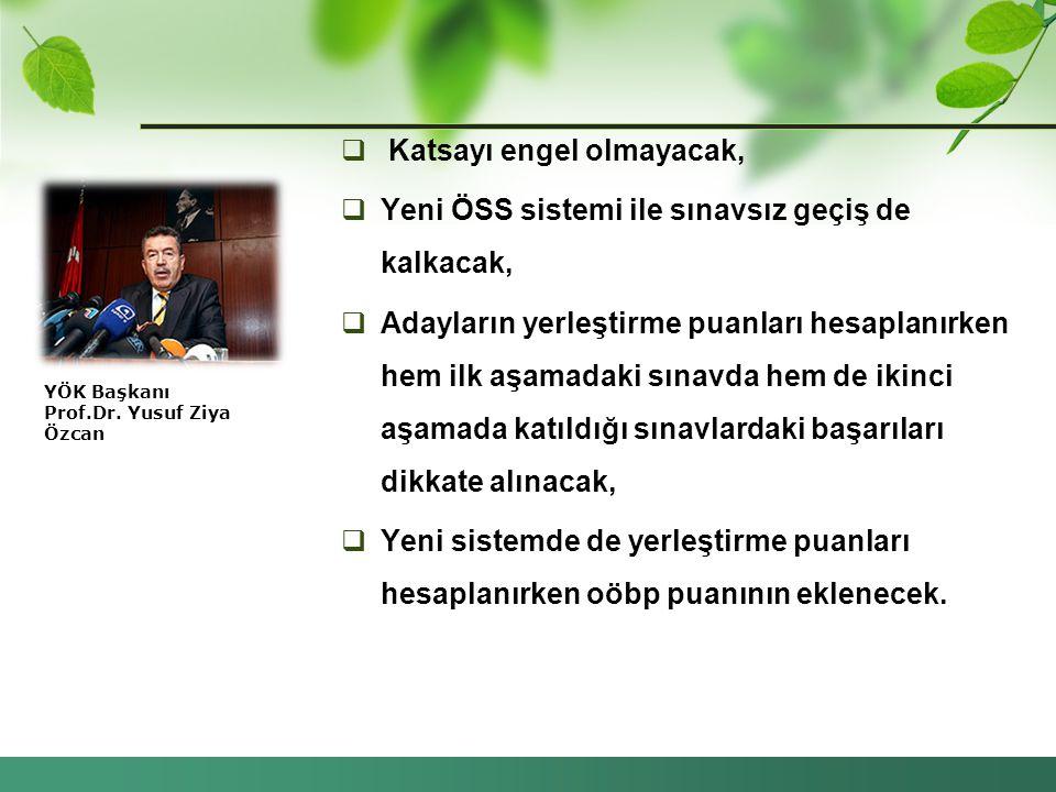 YÖK Başkanı Prof.Dr. Yusuf Ziya Özcan