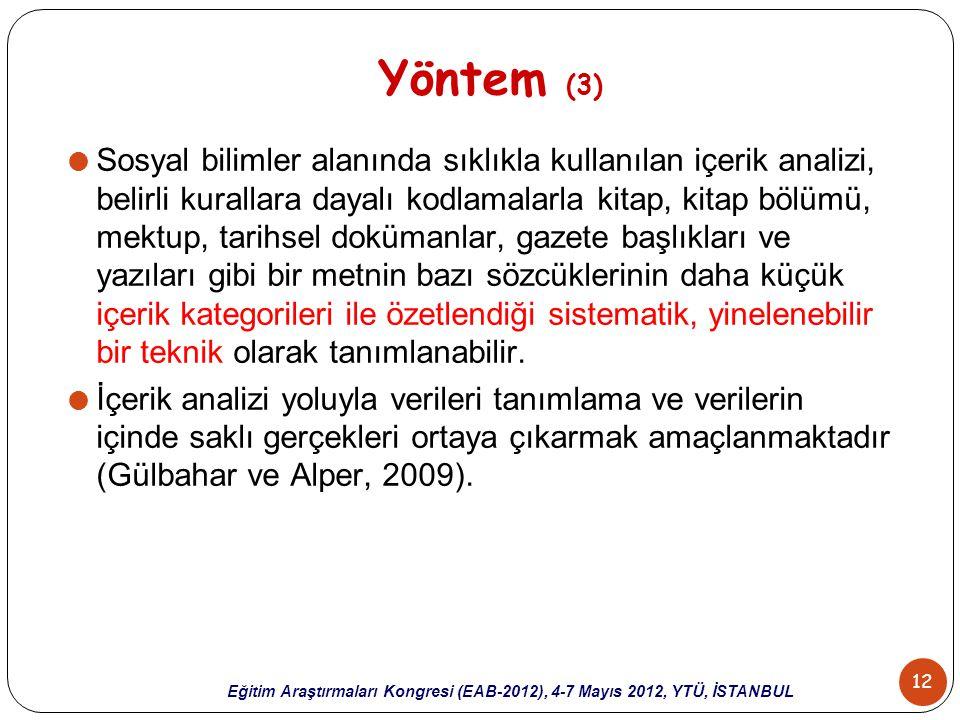 Yöntem (3)