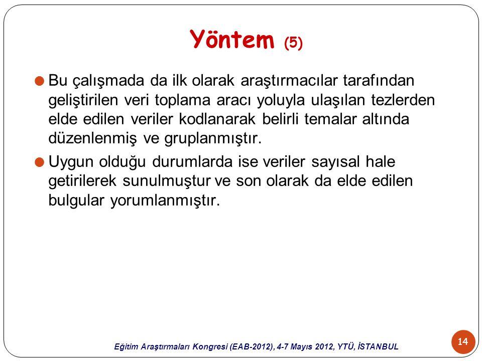Yöntem (5)