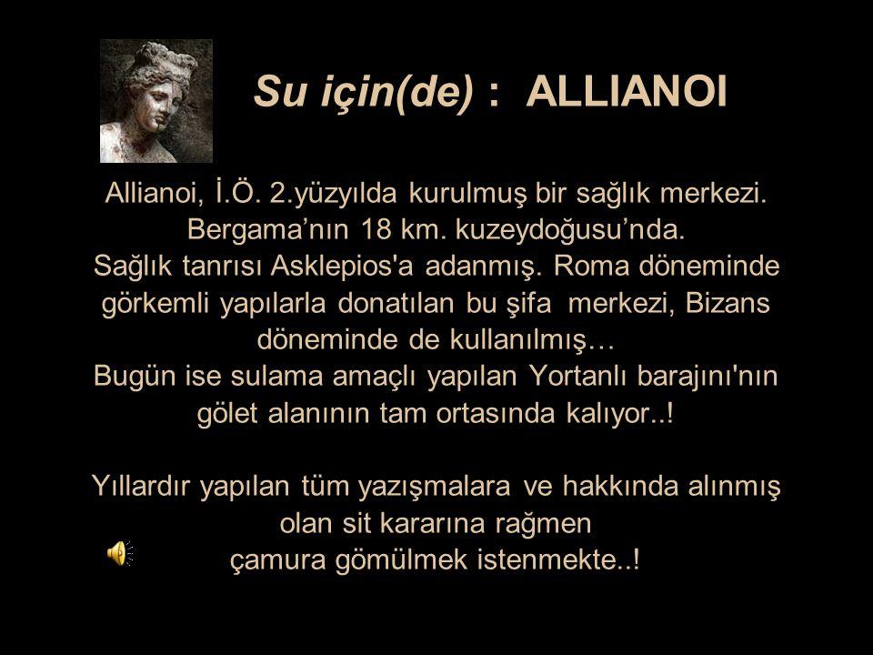 Su için(de) : ALLIANOI Allianoi, İ. Ö. 2