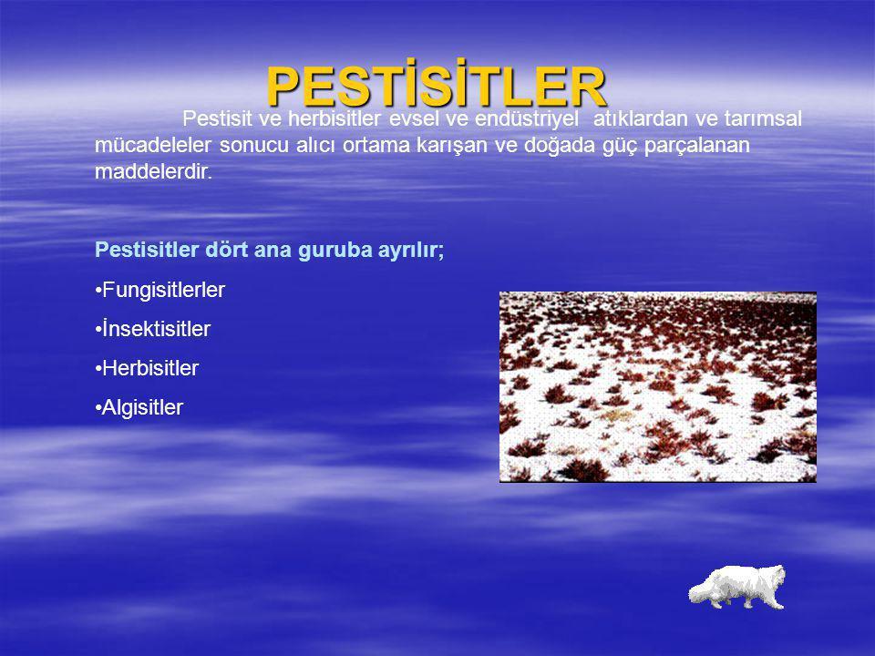 PESTİSİTLER