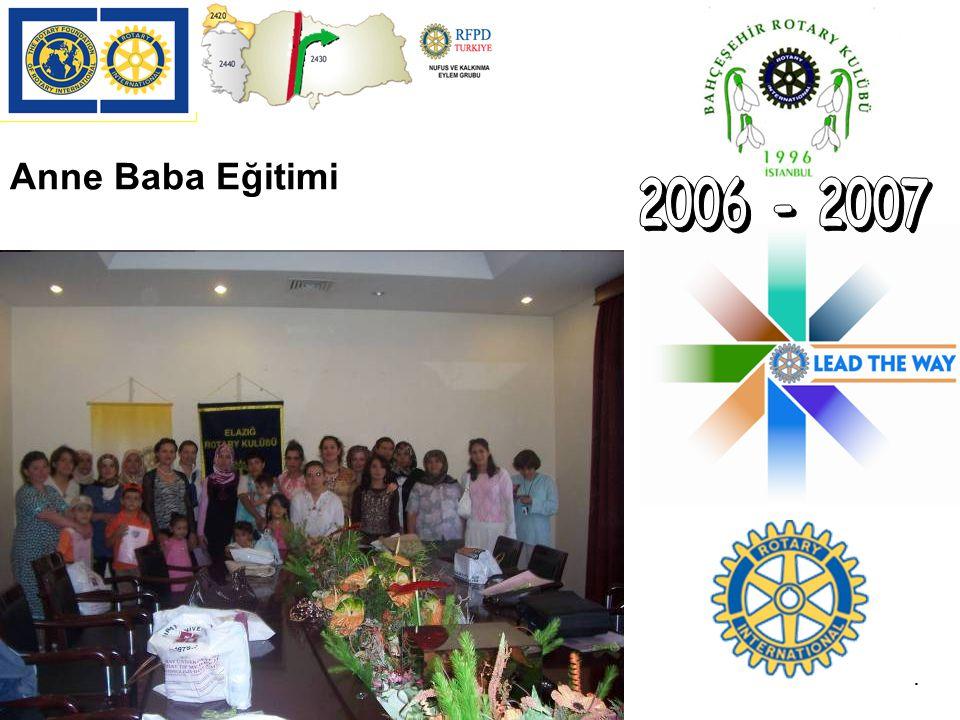 2006 - 2007 Anne Baba Eğitimi ( ELAZIĞ EĞİTİMİ): .