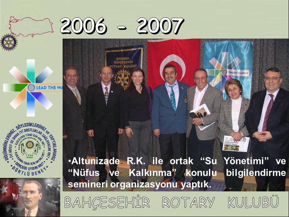2006 - 2007 Altunizade R.K.
