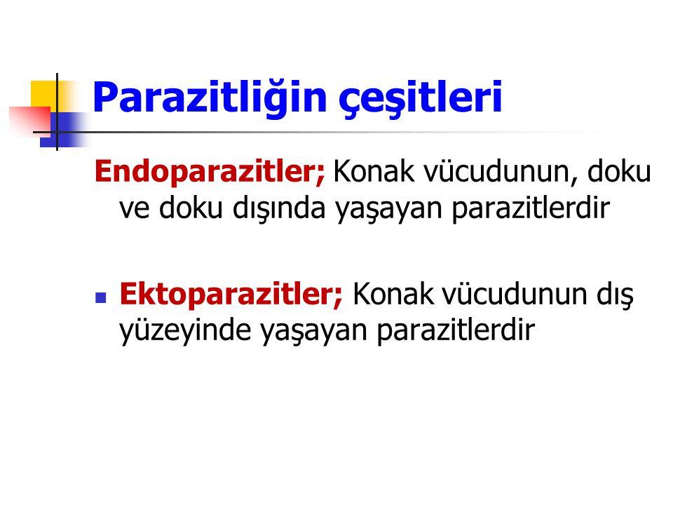 Parazitliğin çeşitleri
