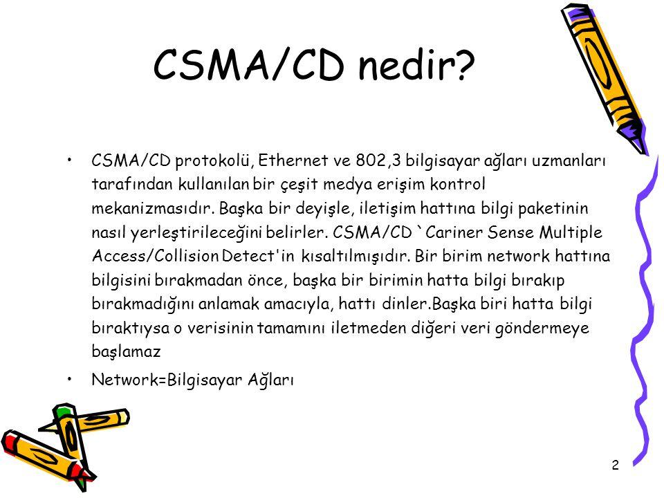 CSMA/CD nedir