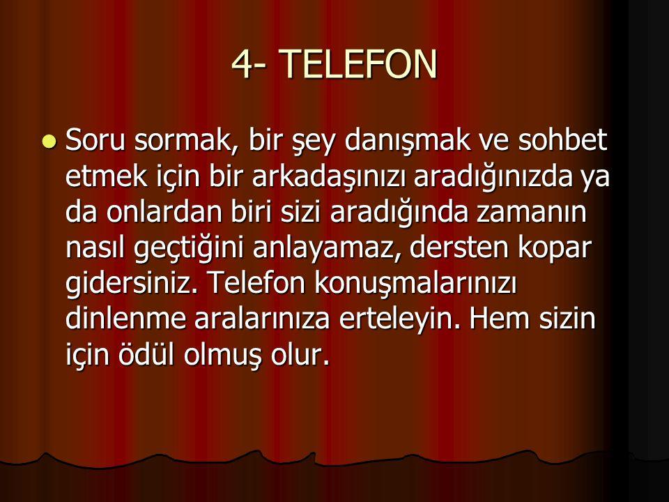 4- TELEFON
